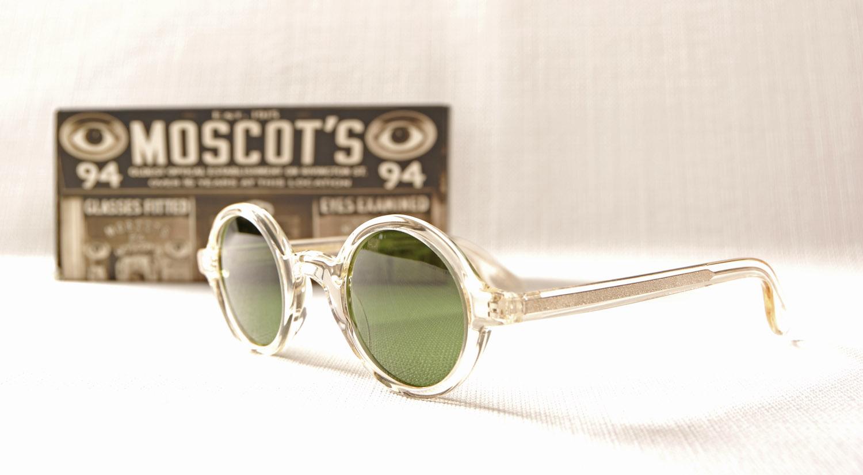Lunettes de soleil rondes et vintage MOSCOT Zolman - Opticien haut ... 987dec9ffa3b