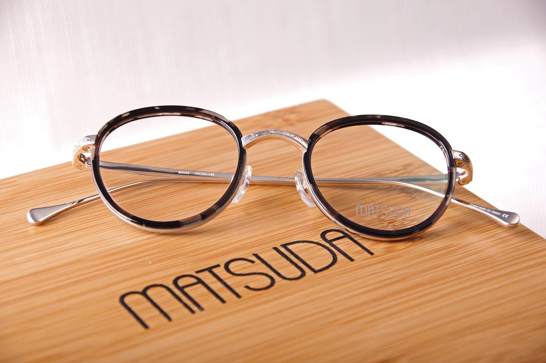 Lunettes de vue MATSUDA M9006 en Argent 925 1000ème dans son coffret ... ea0a5df27c16