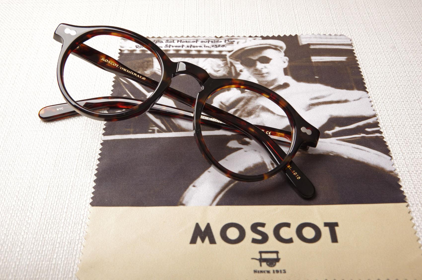 Lunettes de vue rondes et vintage MOSCOT Miltzen colori Tortoise ... 80a56c151811