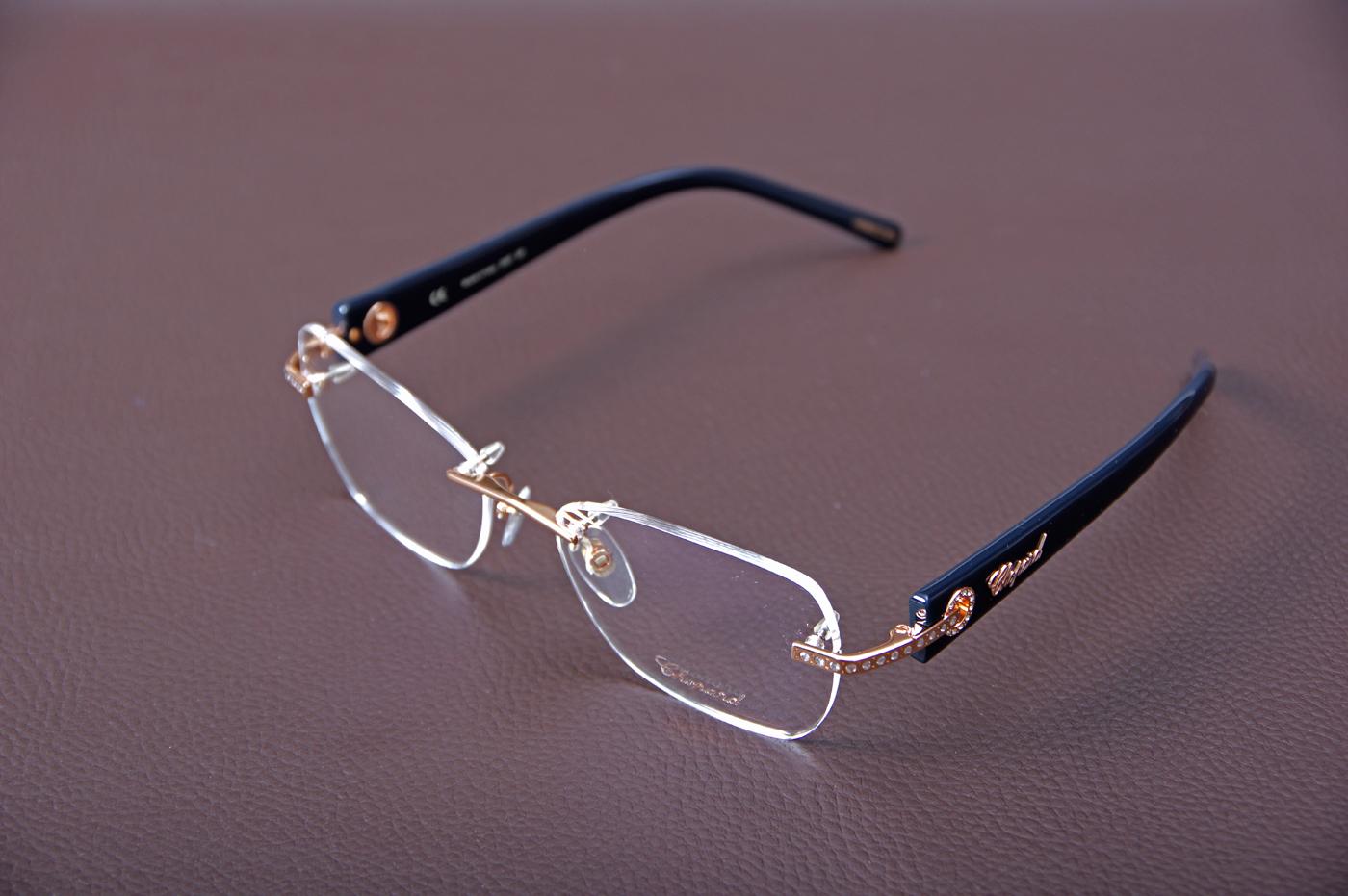 lunettes de vue bijoux pour femme chopard vch 959s opticien haut de gamme sainte adresse optique. Black Bedroom Furniture Sets. Home Design Ideas