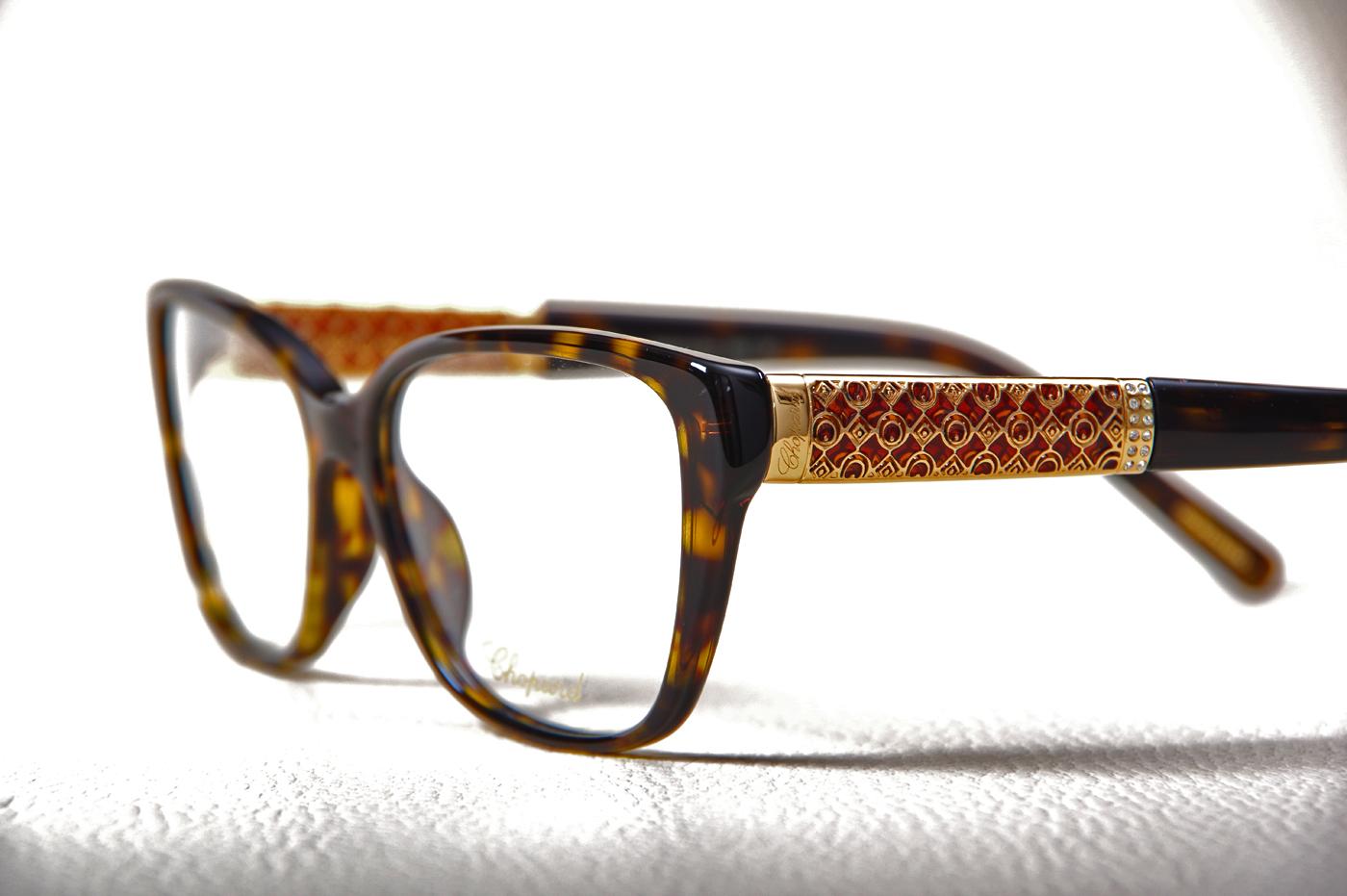 lunettes de vue pour femme chopard vch137 opticien haut de gamme sainte adresse optique. Black Bedroom Furniture Sets. Home Design Ideas