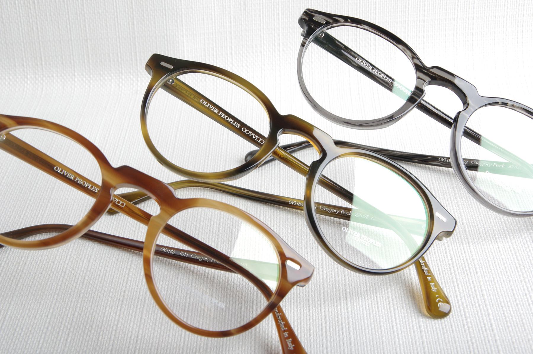 Lunettes de vue GREGORY PECK de la marque OLIVER PEOPLES - Opticien ... d00ca3eeb8b6