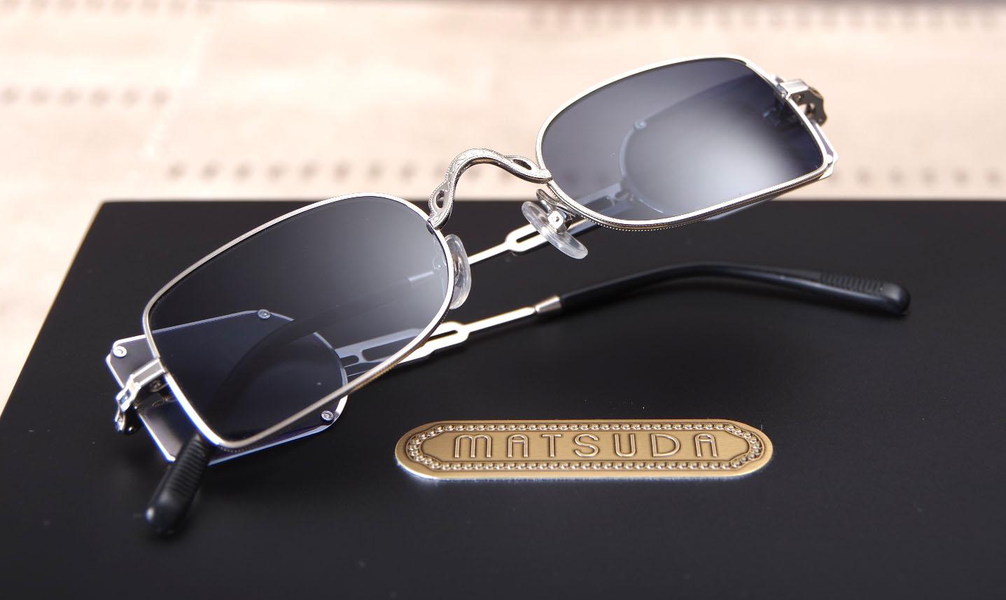 Où trouver les lunettes de soleil MATSUDA M10611 H proche Lille, France   096c09d93bd1